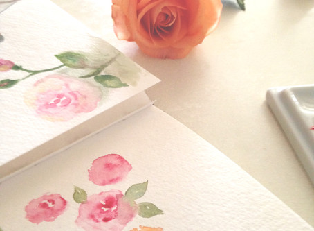 HOW I PAINT ROSES