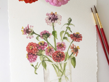ZINNIAS AND AUTUMN?