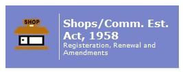 Registration of Shop & Commercial Establishments under The Punjab Shops and Comm. Estab. Act, 1958