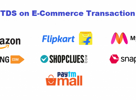 E-Commerce Marketplace & TDS provisions under Income Tax Act, 1961.