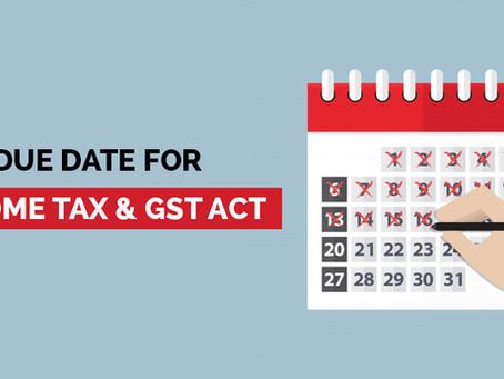 Compliance Calendar - September 2020