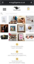 My Gift Genie Facebook & Blog