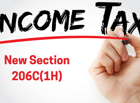 Section 206C(1H) - TCS on sale of ALL Goods