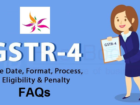 FAQs on Filing Form GSTR-4 (Annual Return) (for FY 2019-20 Onward)