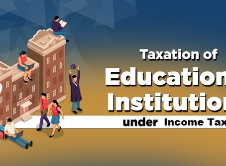 Education in India is not for profit Business: Exemption under Income Tax