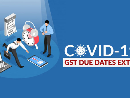 GSTR-9 & GSTR-9C Due dates for FY:18-19 extended