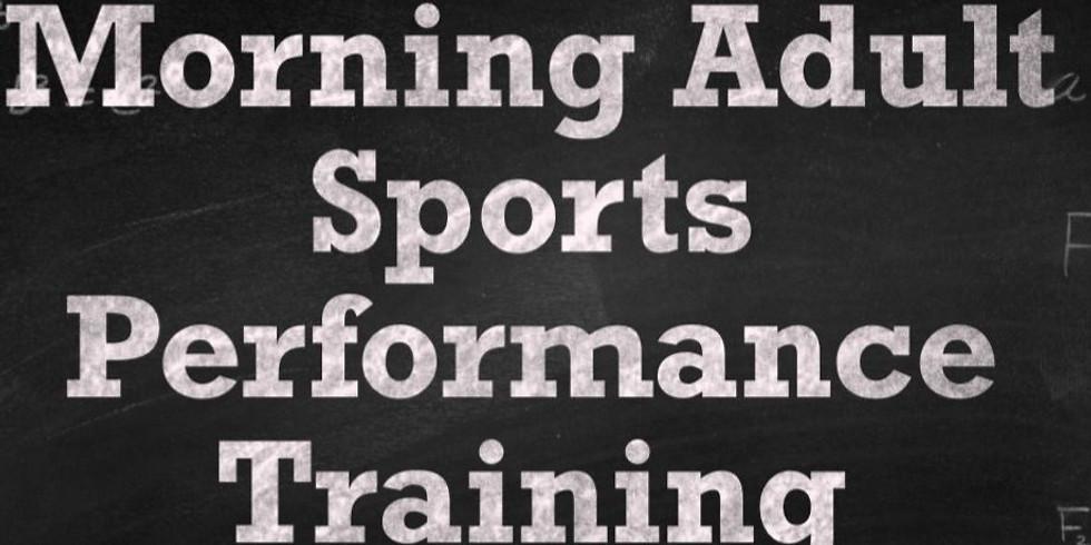 Morning Adult Sports Performance Training