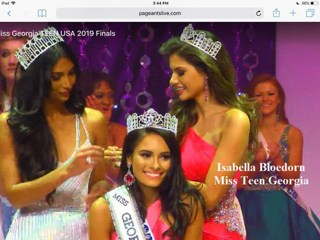 Isabela Bloedarn-Miss Teen Georgia-NPHS