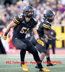 Tyler Bird-LB-App St