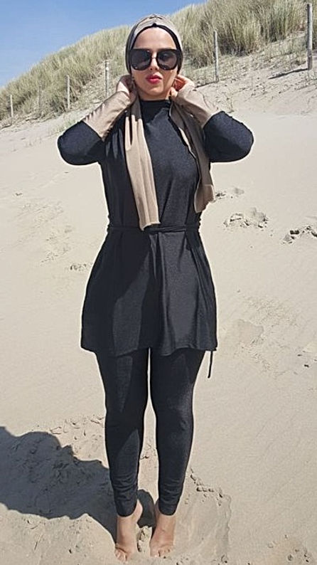 burkini fashion modest swimwear