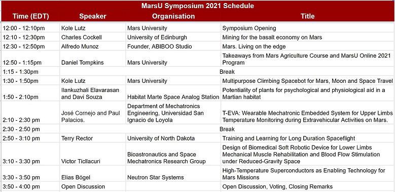 MarsU Symposium 2021 Schedule.JPG