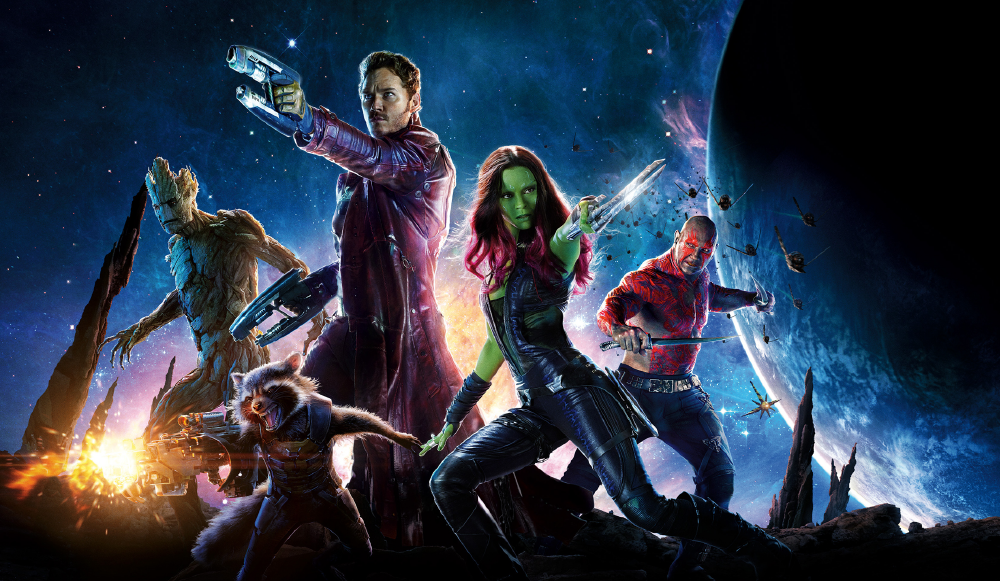 Cover photo of cast for Guardians of the Galaxy