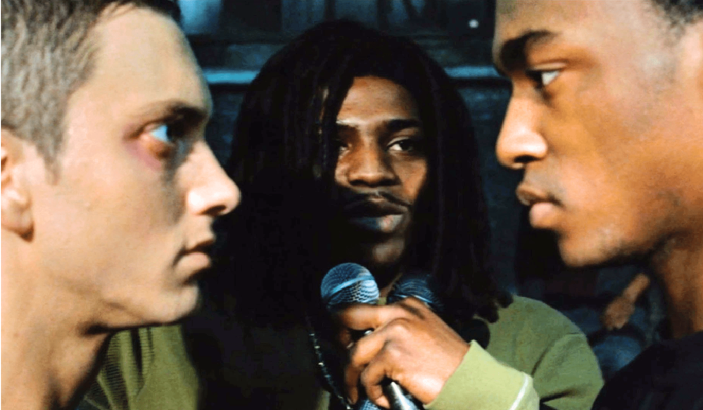 Scene with Eminem from 8 Mile
