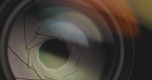 lens apature צמצם מצלמה
