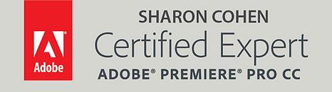 Certified Expert מומחה עריכת וידאו מוסמך פרימייר פרו קורס