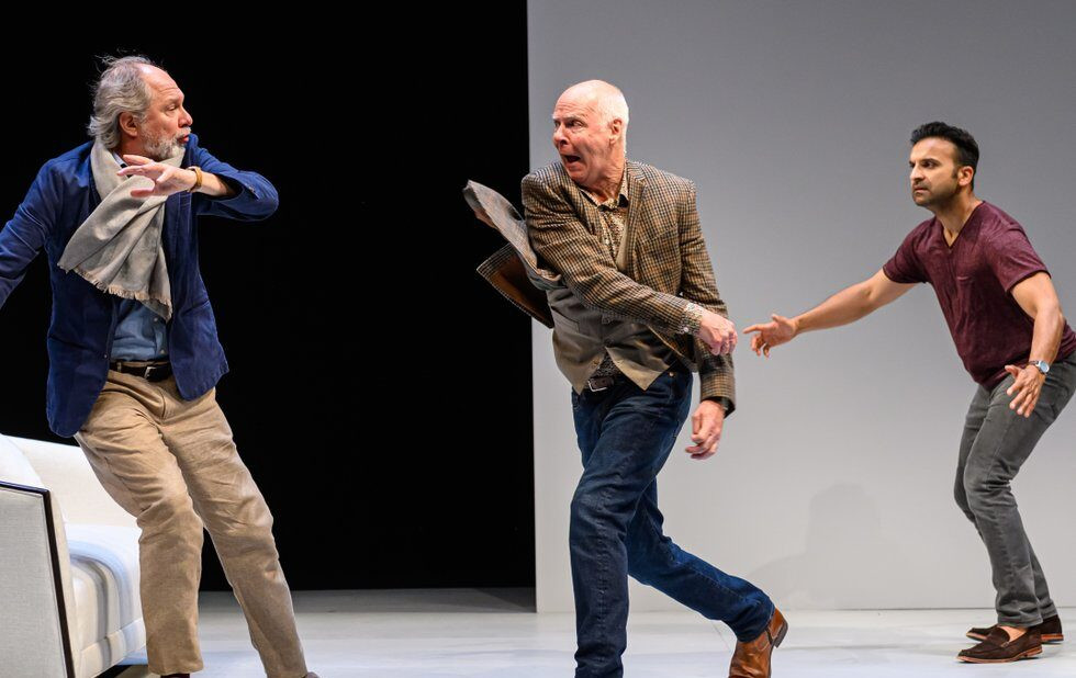 Soulpepper actors demonstrate how to act