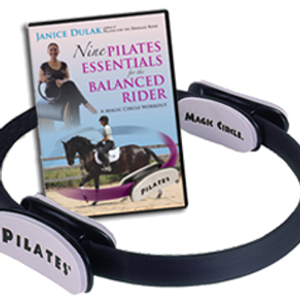 9 Pilates Essentials DVD + Magic Circle