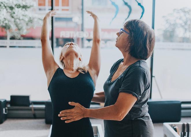 Janice Dulak teaching posture