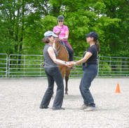 Fun teaching Pilates for Dressage