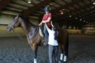 Riding posture correction