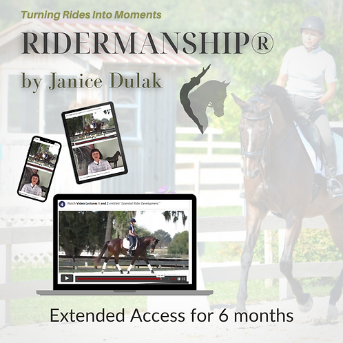 Ridermanship® Extended Access