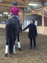 Janice at riding class