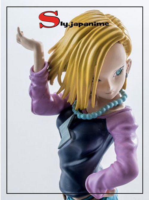 ANDROID 18 - SCULTURES