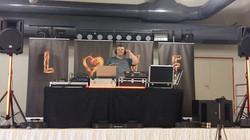 Perfekt vorbereitet _-) unser DJ CHMEL