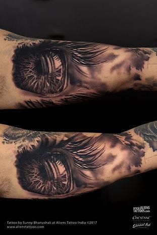 Travellers Eye Tattoo