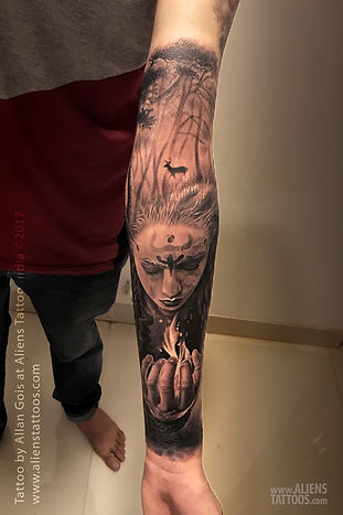 The Aghorian Mystery Tattoo