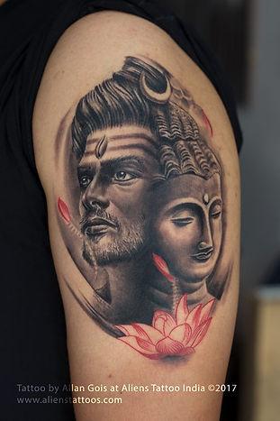 Lord Shiva-Buddha Tattoo