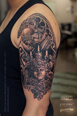 Roman Sculpture Tattoo