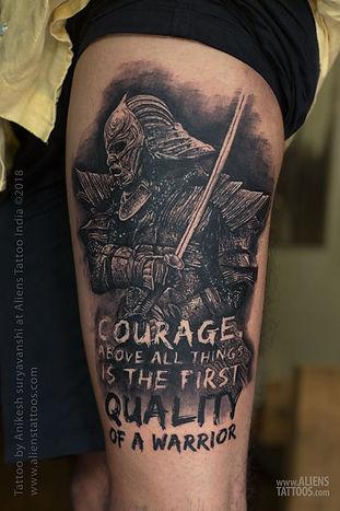 Ronin Samurai Tattoo by Anikesh Suryavanshi