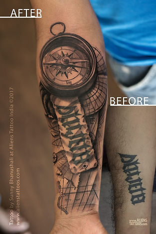 Travellers Tattoo - Cover up