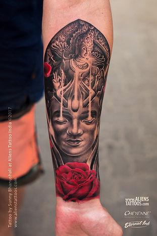 Trance of Shiva Nataraja Tattoo
