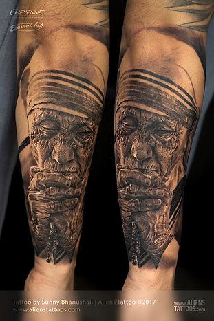 Mother Teresa Tattoo