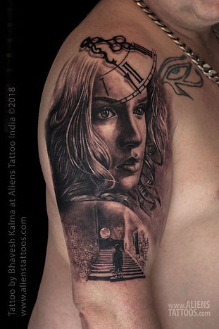 Amazing Portrait Tattoo