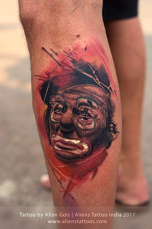 Joker Tattoo by Allan
