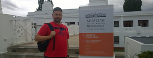 Visited Canberra.