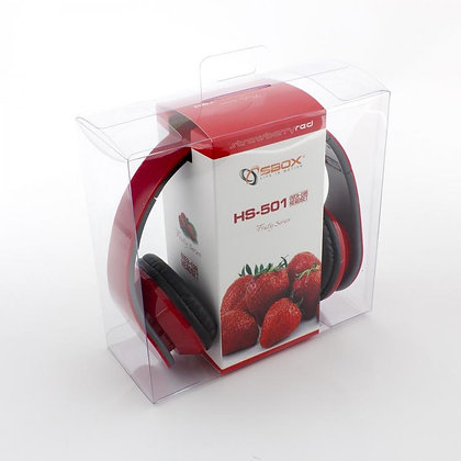 HEADSET SBOX HS-501 RED