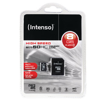 Intenso High Speed Micro SDHC Memory Card