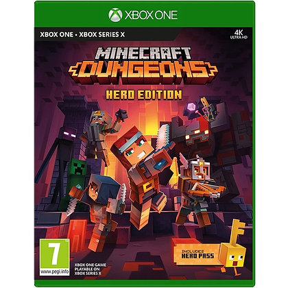 Minecraft Dungeons Hero Edition Xbox