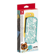 Nintendo Switch Lite Carrying Case (Animal Crossing) & Screen Protector