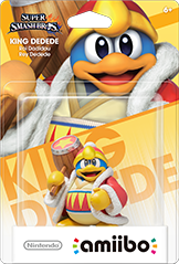 Amiibo Super Smash Bros King Dedede