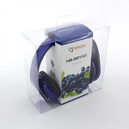 HEADSET SBOX HS-501 BLUE