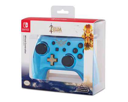 Wired Controller for Nintendo Switch: Chrome Legend of Zelda