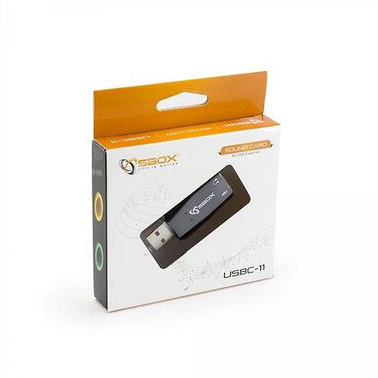 USB SOUND ADAPTER SBOX USBC-11 5.1/3D