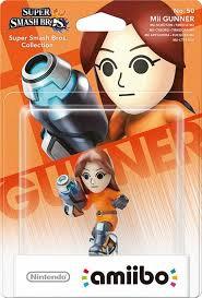 Amiibo Super Smash Bros MII Gunner
