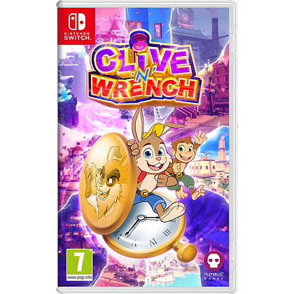 Clive 'n' Wrench Nintendo Switch Game