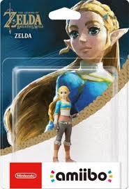 Amiibo Legend of Zelda Breath of the Wild Zelda